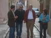 Dans une rue de Bunifaziu, ils continuent à parler de... traduction poétique!