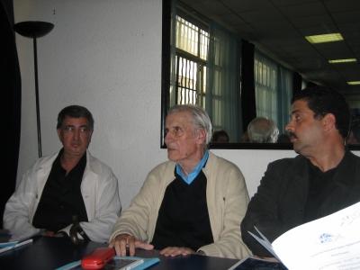 José MONLEON trà Ahmed MASSAIA (Maroccu) è Habib BEL HEDI (Tunisia)